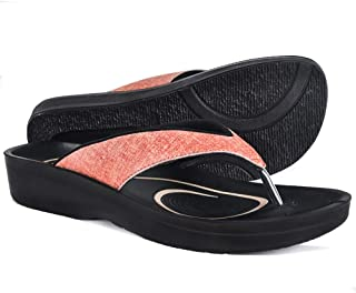 6176da109f0c63 AEROTHOTIC Original Orthotic Comfort Thong Style Sandals   Flip Flops for  Women with Arch Support for