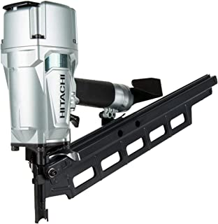 "Hitachi NR83A5(S) 3-1/4"" Plastic Collated Framing Nailer (Without Depth Adjustment) (Certified Refurbished)"