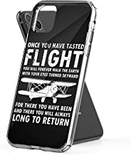Case Phone Once You Have Tasted Flight Da Vinci Aviation Quote (6.5-inch Diagonal Compatible with iPhone 11 Pro Max)