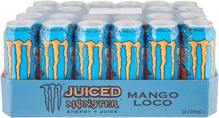 Monster-ko monster-k monster energy mango loco 500ml x24 (lattina) B08BM9DHZW