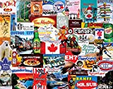 White Mountain Puzzles I Love Canada-1000 Piece Jigsaw Puzzle