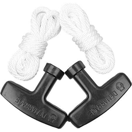 Recoil Starter Spring Handle Grip Rope For Honda GX160 5.5HP Lawn Mower Assembly