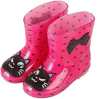 Fashion Classic Children's Shoes PVC Rubber Kids Baby Cartoon Shoes Children's Water Shoes Waterproof Rain Boots