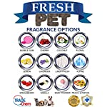 Trade Chemicals Fresh Pet Kennel/Cattery Cleaner & Disinfectant - Kills 99.99% Bacteria - Eliminates Odour (Lemon Fresh) 10