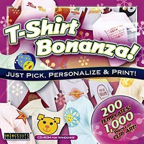 SelectSoft - playera de manga corta, diseño de Bonanza