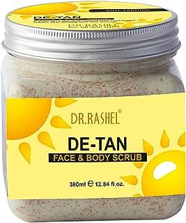 DR.RASHEL De-Tan Scrub For Face & Body (380 Ml)   Revitalizing Tan Removal Scrub   Cleanser Scrub For Deep Exfoliation   D...