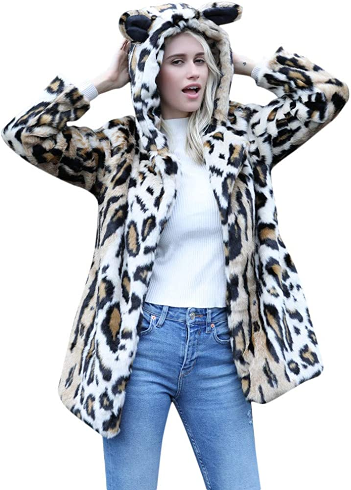 YKARITIANNA Ranking TOP9 Seattle Mall Women Cute and Sweet Cat Warm Ear Gir Big Top Winter
