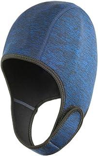 Czepek pływacki, neoprenowa regulowana czapka do surfowania nurkowania kajak rafting ochrona termiczna czepek pływacki, ni...