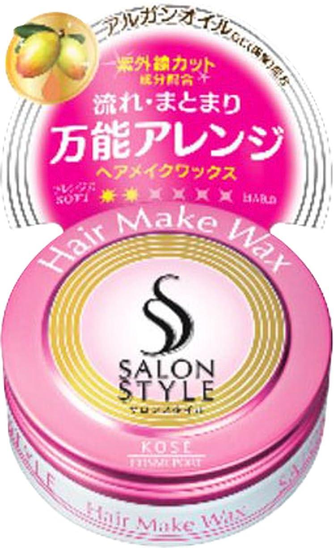 多分拮抗する留め金KOSE コーセー SALON STYLE(サロンスタイル) ヘアメイクワックス ミニ 22g