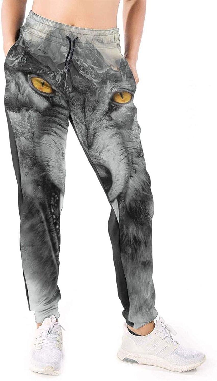 HARLEY BURTON Women 3D Sweatpants W In a popularity Snow Wolf Mountain Gray favorite
