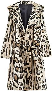 Women's Teddy Bear Coat Faux Fur Jacket Womans Daily Ritual Leopard Jackets Plus Size Fashion 2019 Fall Winter