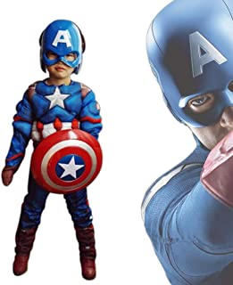 MEET Captain America Classic Muscle Costume …