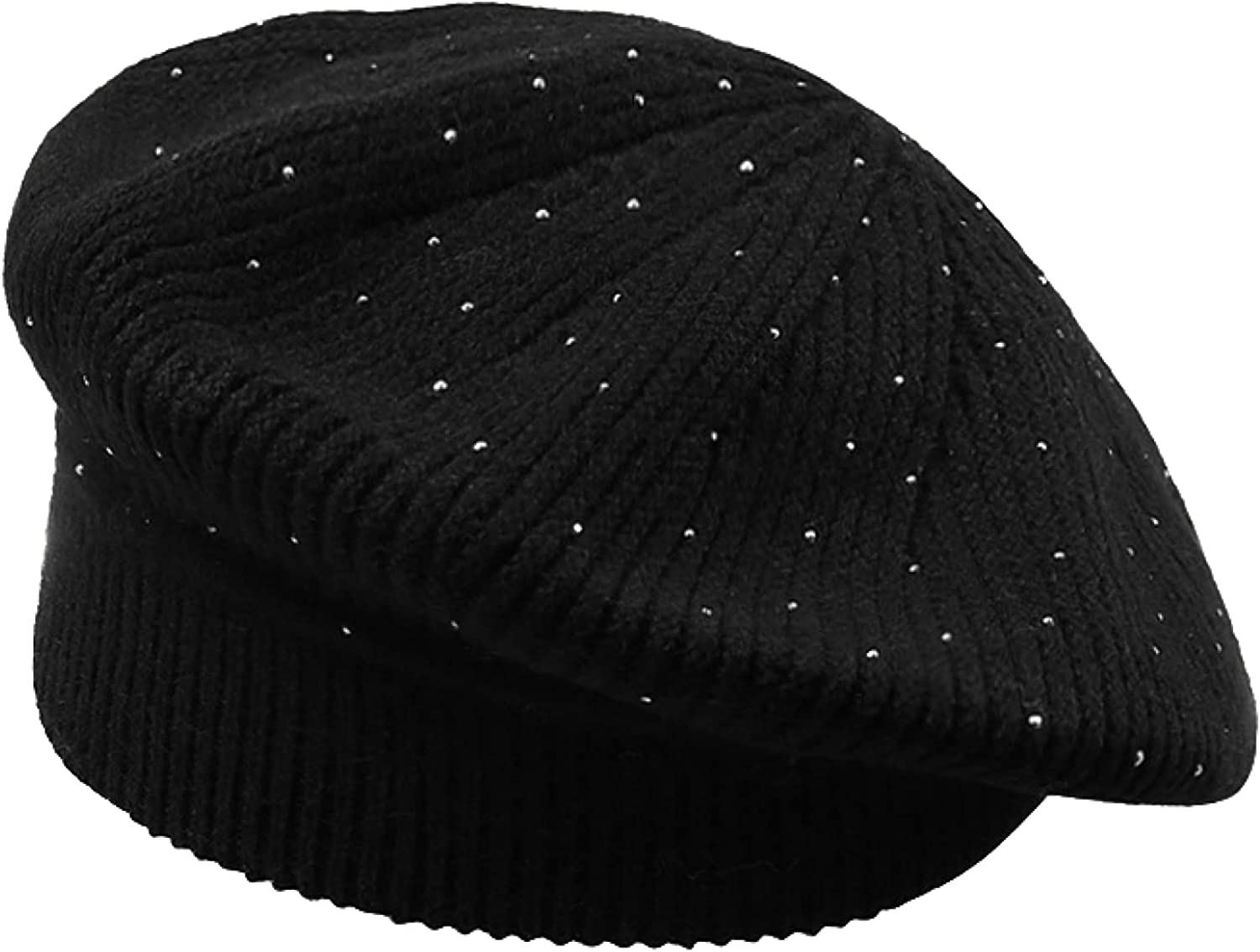 AOBRICON Knitted Sales results No. 1 favorite Beret Hats for Women Winter Ship Outdoor Ladies
