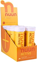 Nuun Active Hydration Tabs Pack of 8 Tubes 80 Tabs Orange Estimated Price : £ 49,95