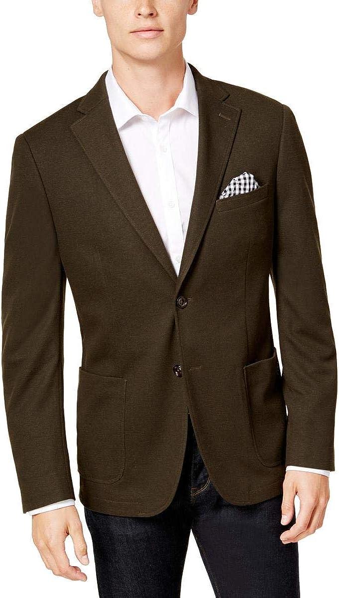 Bar Iii Mens Slim-Fit Knit Sport Coat