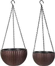 Moutik Hanging Planter Basket, Planter Self-Watering 10