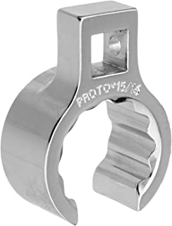 12 Point Stanley Proto J3710MT 10 by 12mm Proto Satin Flare-Nut Wrench