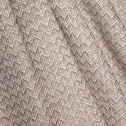 Lorenzo Cana High End Kaschmir-Decke 100% Kaschmir flauschig weiche Wohndecke Decke handgewebt Sofadecke Kaschmirdecke Wolldecke 96117