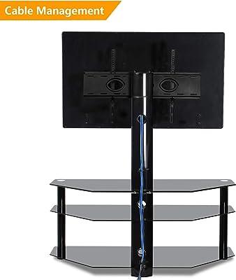 Amazon Com Simple Connect 42 Inch Corner Tv Stand Mocha
