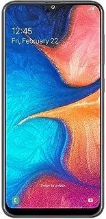 """Samsung Galaxy A20 SM-A205FDS 32GB, Dual Sim, 6.4"""" Infinity-V Display, Dual Rear Camera, 3GB RAM, GSM Unlocked International Model, No Warranty (Black)"""