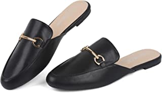 Sponsored Ad - Samilor Mules for Women Flats Comfortable Slip On Women's Flats Backless Loafers Casual Flat Shoes Women