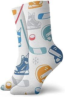 Dydan Tne, Niños Niñas Locos Divertidos Hockey Elamants Calcetines Estampados creativos Calcetines Lindos de Vestir de Novedad