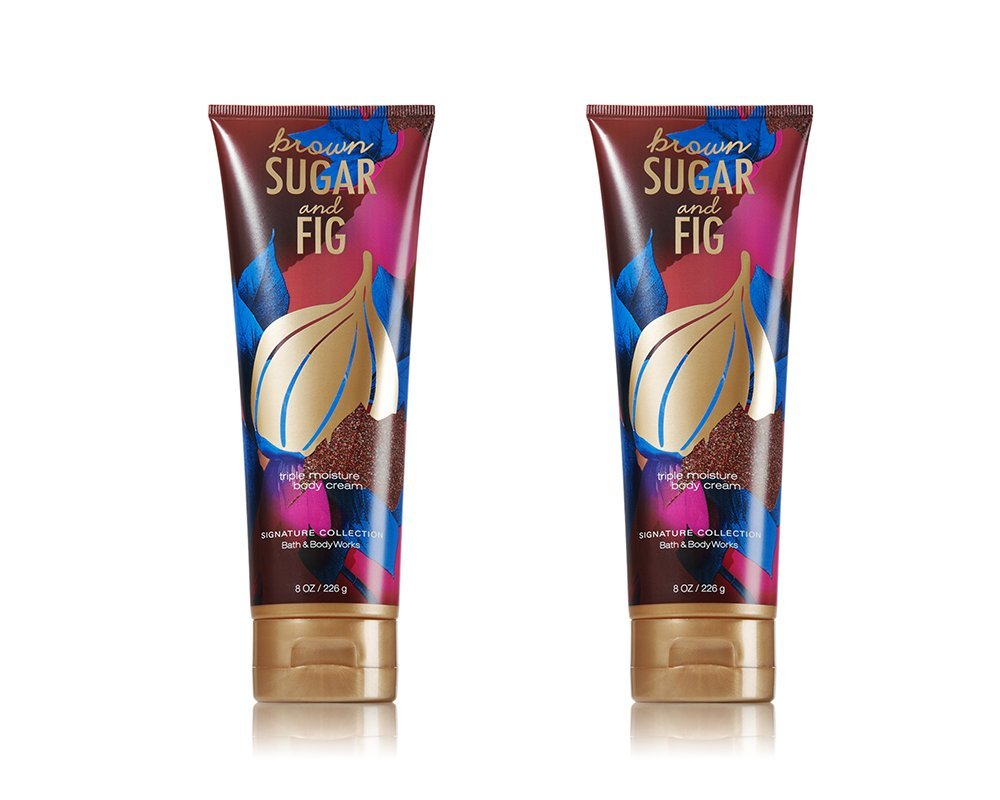 Bath and Body Works Brown Sugar Triple trend rank Cream Moisture sale Fig