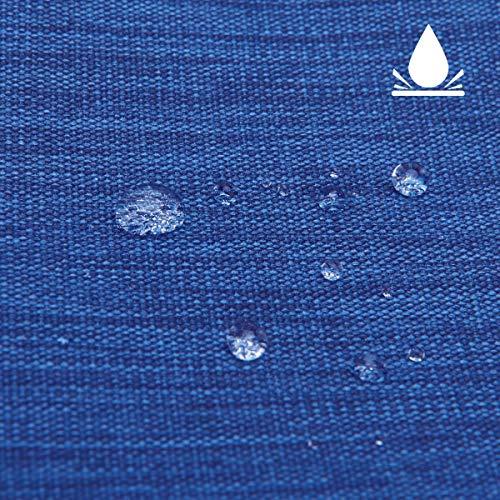 LIVACASA Kabeltasche Wasserdicht Elektronische Tasche Universal Festplattentasche Groß Kabel Organizer Tasche Elektronik Zubehör Organisator für Handy Ladekabel Powerbank USB Sticks Dunkelblau