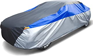 TengXiangChi 6 Layers Waterproof Car Cover All Weather for Automobiles UV Protection Dust Outdoor Full Cover with Cotton Z...