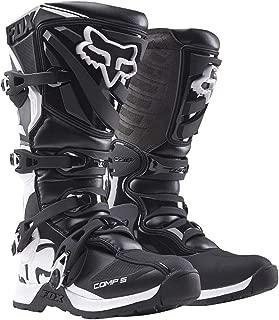 2018 Fox Racing Womens Comp 5 Boots-Black/White-5