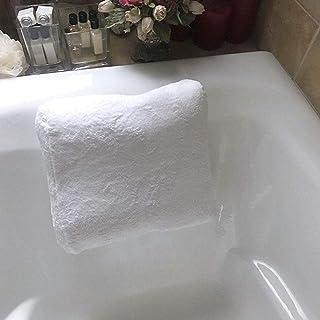 KUNXIAOY 3D Bathtub Pillow, with Suction Cup Universal Non-Slip Baby Headrest Cushion Bath Tub Pillow Hotel Bath Pillow Cushion