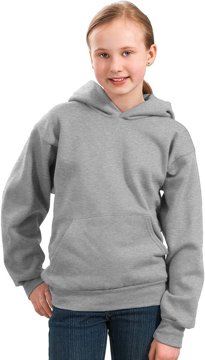 Port & Company Boys' Pullover Hooded Sweatshirt S Athletic Heather