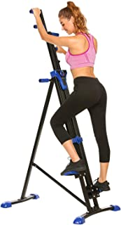 ANCHEER Vertical Climber Folding Exercise Climbing Machine, Exercise Equipment Climber for Home Gym, Exercise Bike for Home Body Trainer (US Stock)