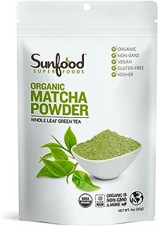 Sunfood Superfoods Organic Matcha Powder Culinary Grade