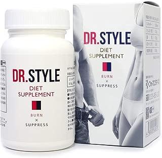 DR.STYLE 医師監修 ダイエット サプリメント サラシア αリポ酸 L-カルニチン CoQ10 120粒