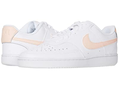 Nike Court Vision Low (White/Washed Coral) Women