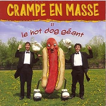 Crampe en masse et le hot dog géant