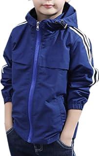 ININUK キッズ 子供用 春秋の新番 男の子 子供服  かっこいい トレンチコート ジャケット スプリングコート ジャンパー ブルゾン ウインドブレーカー 男の子 子供服 ジュニア ファション