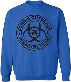 zerogravitee Zombie Outbreak Response Team Crewneck Sweatshirt
