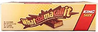 Product Of Whatchamacallit, King Size Chocolate, Count 18 (2.6 oz) - Chocolate Candy / Grab Varieties & Flavors