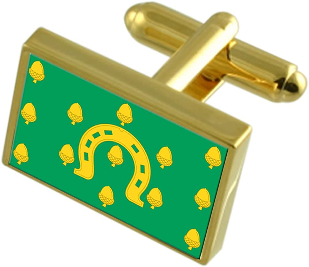 Select Gifts Rutland County Max 55% OFF Gold-tone England Flag Max 81% OFF Cufflinks