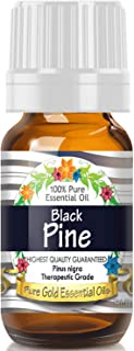Pure Gold Black Pine Essential Oil, 100% Natural & Undiluted, 10ml