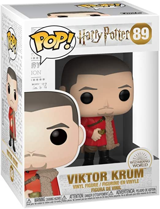 Funko - Pop! Harry Potter S7: Viktor Krum (Yule) Figura De Vinil , Multicolor (42252)