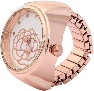 Orologio da donna alla moda, semplice orologio al quarzo, con anello di quarzo, per compleanni, San Valentino per la maggi...