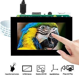 OSOYOO 3.5 インチ TFT タッチスクリーン | DSI コネクタ | LCD ディスプレイ モニター |Raspberry Pi 4 B 3 Model B+ 2 用 | ラズベリーパイ