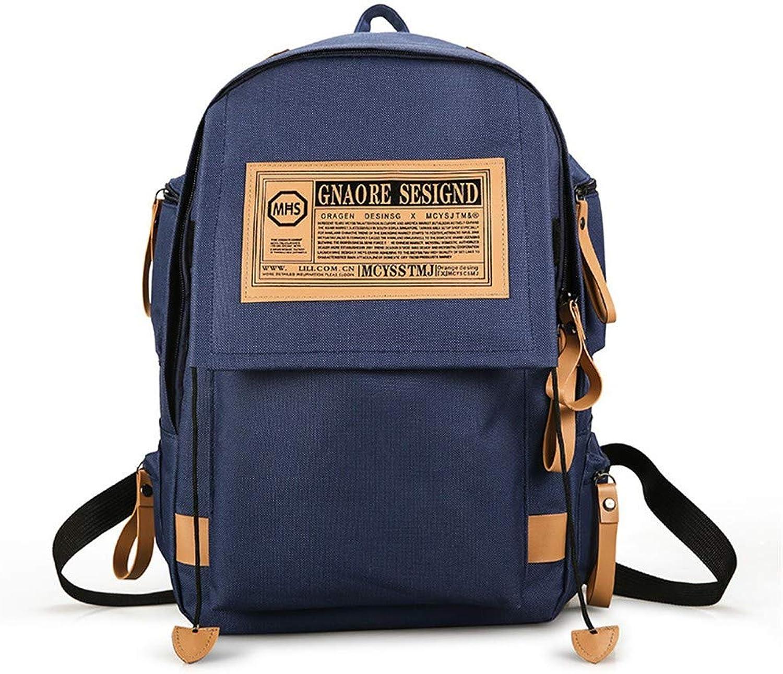 Lssige Rucksack-Computertasche für den Mode-Rucksack, 44 × 30 × 16 cm, Blau