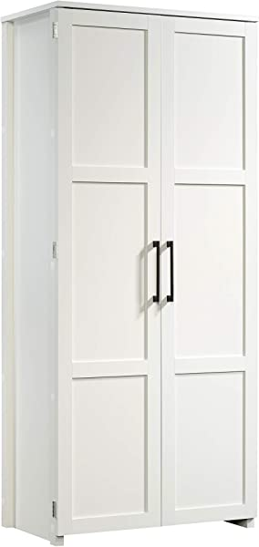 Sauder 424001 Homeplus Storage Cabinet Soft White Finish