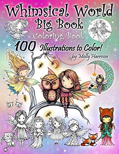 Whimsical World Big Book Colorin...