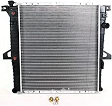 Evan-Fischer Radiator Compatible with 1998-2001 Ford Explorer and 1998-2011 Ranger Factory Finish Aluminum Core With Transmission Cooler