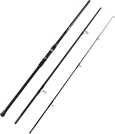 Fiblink Surf Spinning Fishing Rod 3-Piece Graphite Travel...